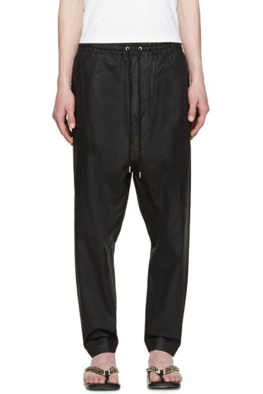 Miharayasuhiro - Black Drawstring Trousers