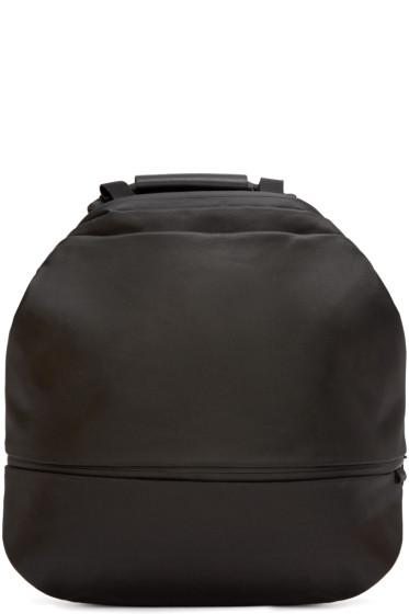 Côte & Ciel - Black Coated Canvas Meuse Backpack