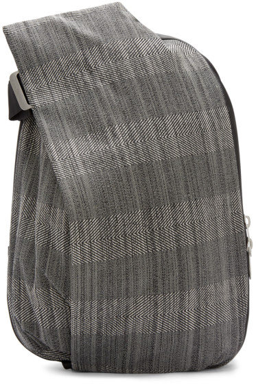 Côte & Ciel - Grey & Black Medium Isar Backpack