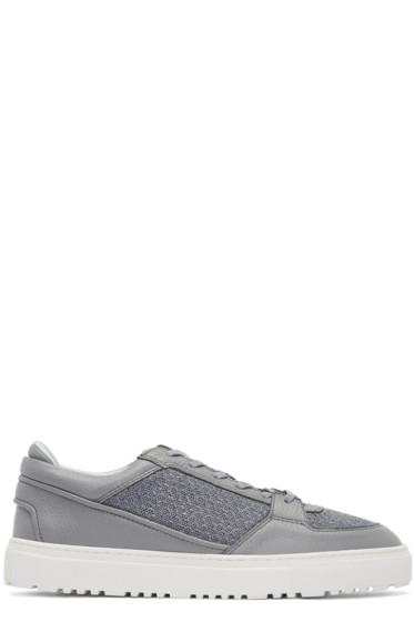 ETQ Amsterdam - Grey Mesh Sneakers