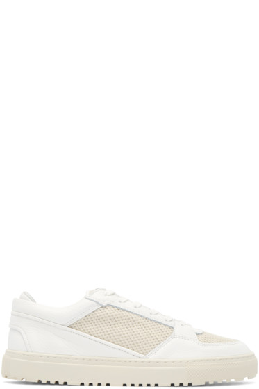 ETQ Amsterdam - Off-White Mesh Sneakers