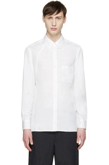Yohji Yamamoto - White Poplin Shirt