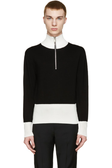 Christian Dada - Black 50s Motorcycle Sweater
