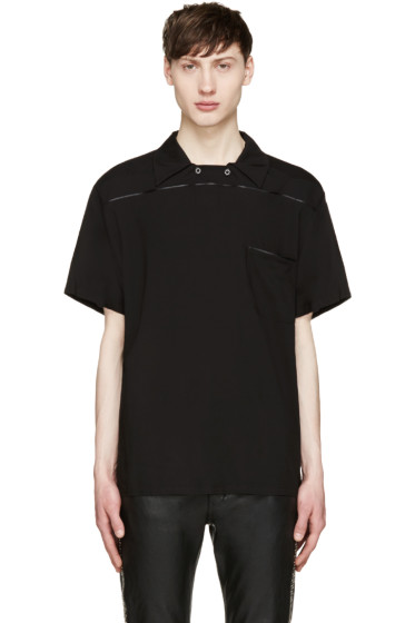 Christian Dada - Black Pullover Polo