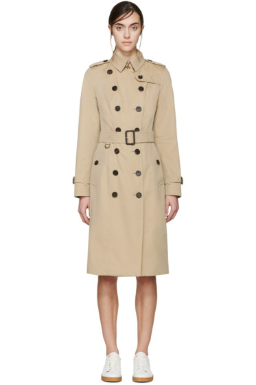 Burberry London - Beige Extra-Long Sandringham Trench Coat