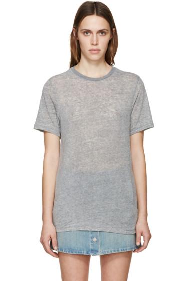 Isabel Marant Etoile - Grey Dena T-Shirt