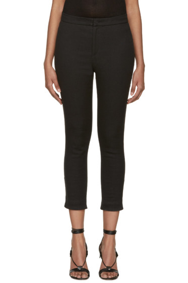 Isabel Marant - Black Linen Lindy Trousers