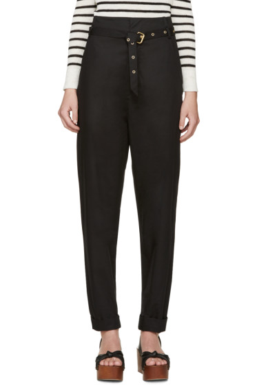 Isabel Marant - Black Belted Nesto Trousers