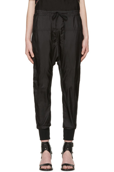 Isabel Marant - Black Silk Keegan Trousers
