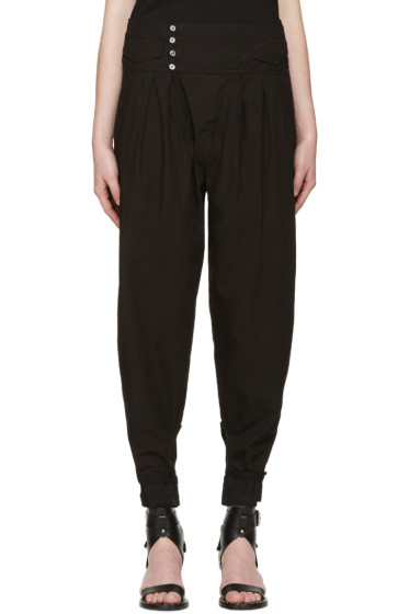 Isabel Marant - Black Pleated Odrys Trousers