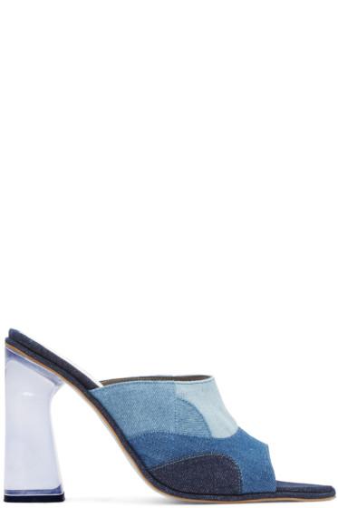 Amélie Pichard - Blue Denim Pamela Anderson Edition Mules