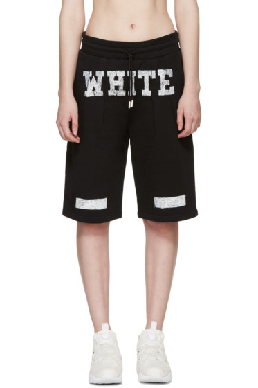 Off-White - Black Basketball Shorts
