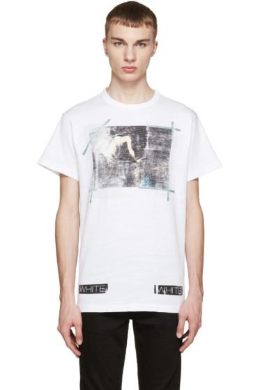 Off-White - White Caravaggio Annunciation T-Shirt