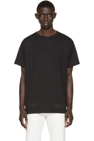 Off-White - Black & Orange Box T-Shirt