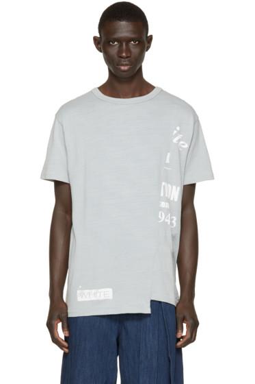 Off-White - Grey Half-Truck T-Shirt
