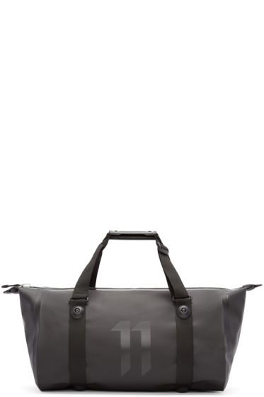 11 by Boris Bidjan Saberi - Black Travel-Zip Duffle Bag