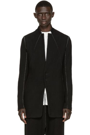 Nude:mm - Black Cardigan Coat