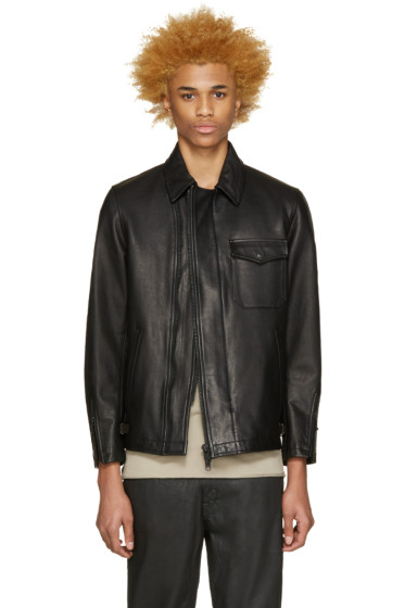 Blackmeans - Black Leather Jacket