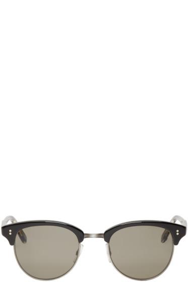 Garrett Leight - Black Washington Sunglasses