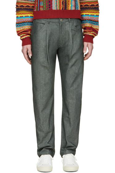 Gosha Rubchinskiy - Grey Straight Leg Jeans