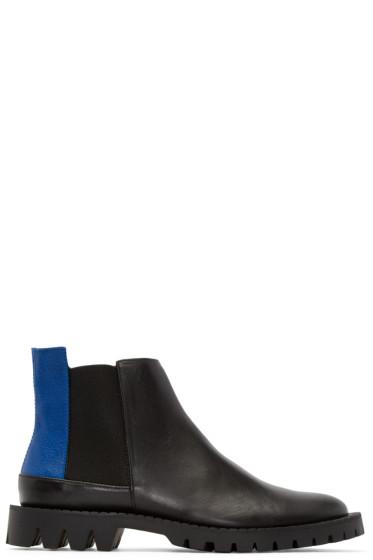 Etudes Studio - Black Canal Chelsea Boots