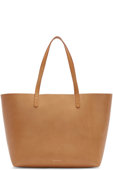 Mansur Gavriel - Tan Leather Large Tote