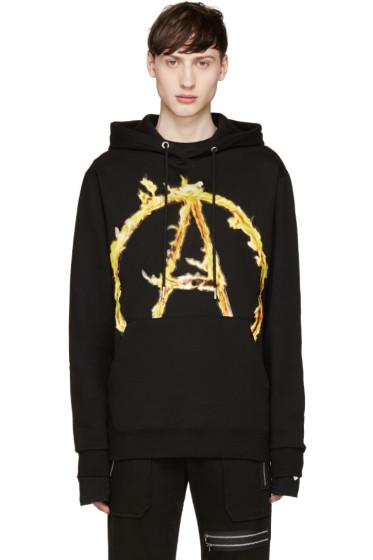 99% IS - Black A Flame Logo Hoodie