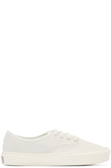 Vans - Off-White Authentic Lite LX Sneakers