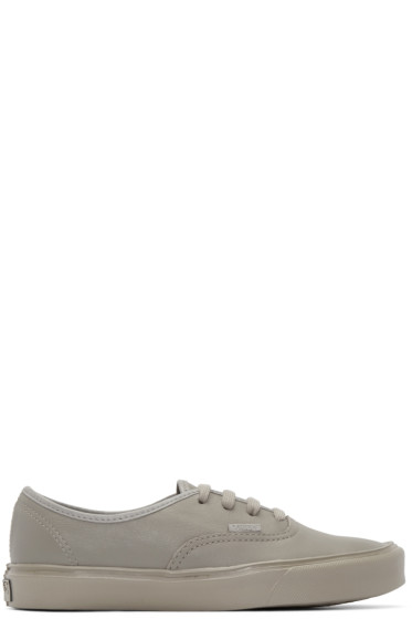Vans - Taupe Authentic Lite LX Sneakers