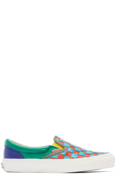 Vans - Multicolor 50th OG Classic Slip-On LX Sneakers