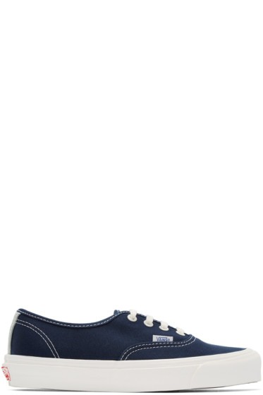 Vans - Navy Canvas OG Authentic LX Sneakers
