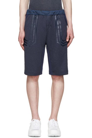 adidas x White Mountaineering - Navy Colorblocked Lounge Shorts