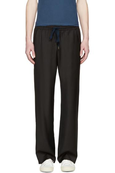 CMMN SWDN - Brown Wool Matteo Trousers