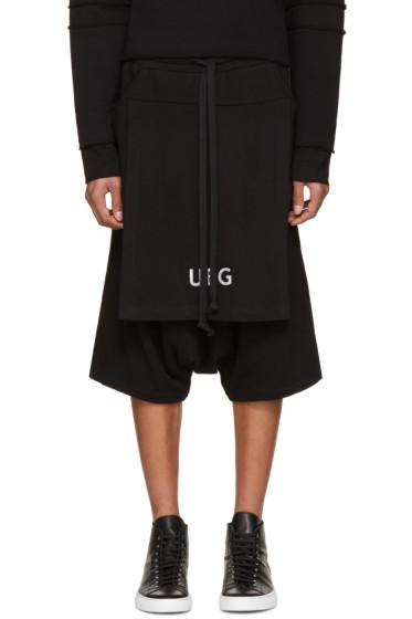 UEG - Black Logo Lounge Shorts