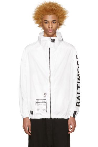 UEG - White Baltimore Jacket
