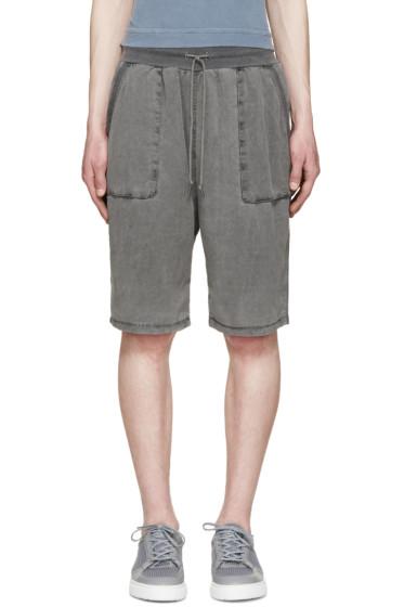 John Elliott - Grey Safari Shorts