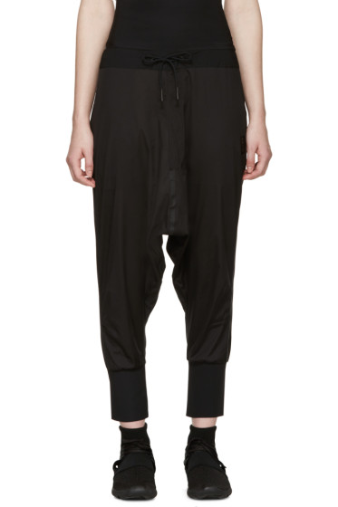 Y-3 SPORT - Black Sarouel-Style Lounge Pants