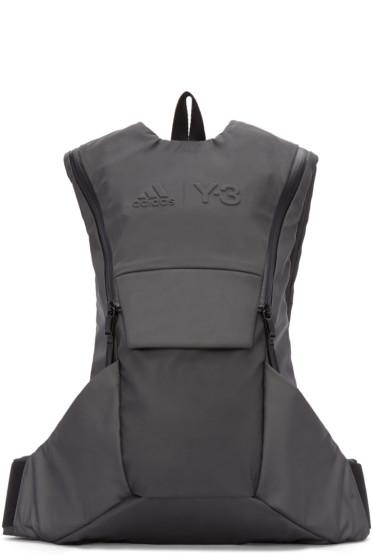 Y-3 SPORT - Grey Reflective Backpack
