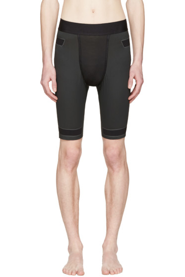 Y-3 SPORT - Black Techfit Shorts