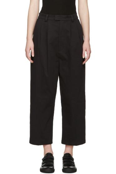 Perks and Mini - Black Twill Pike Trousers