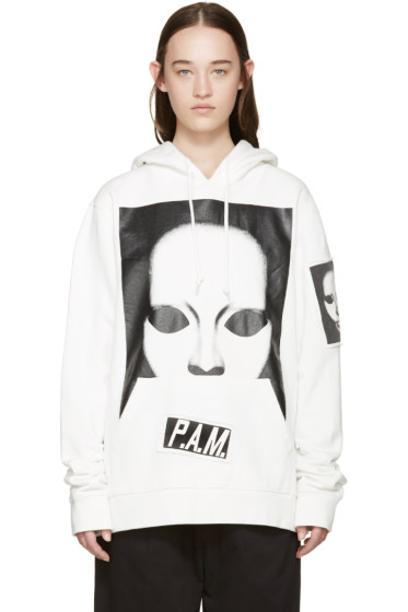 Perks and Mini - White Peek A Boo Hoodie