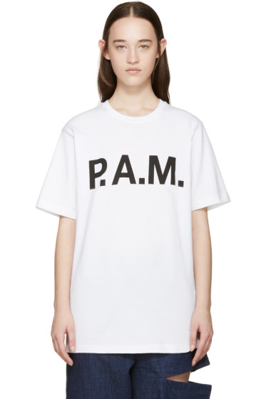 Perks and Mini - White Logo Handmaiden T-Shirt