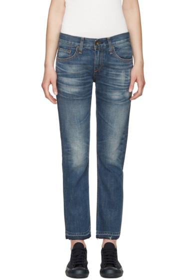Rag & Bone - Blue X Boyfriend Jeans