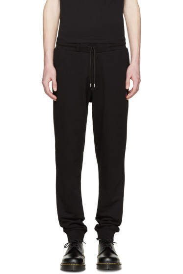 McQ Alexander Mcqueen - Black Jersey Lounge Pants