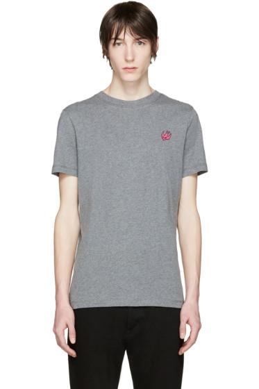 McQ Alexander Mcqueen - Grey Crewneck T-Shirt