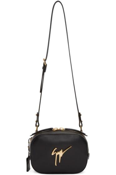 Giuseppe Zanotti - Black Leather Shoulder Bag