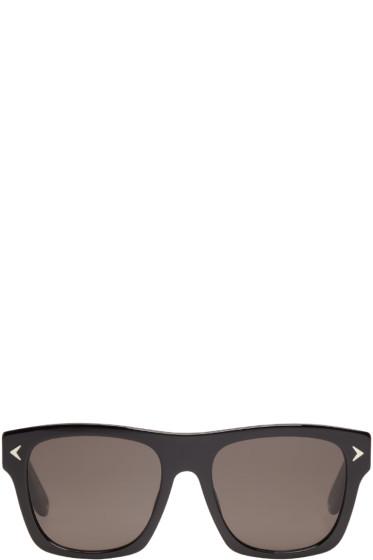 Givenchy - Black Acetate Square Sunglasses