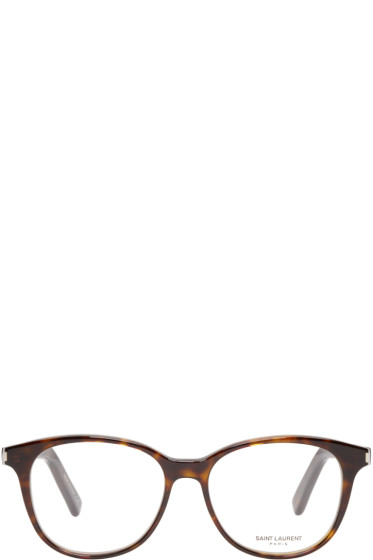 Saint Laurent - Tortoiseshell Classic 9 Optical Glasses
