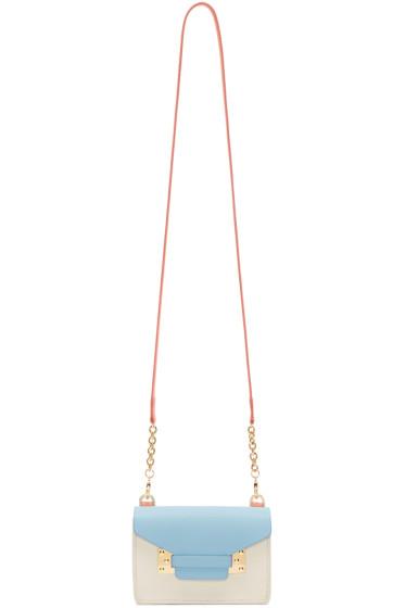 Sophie Hulme - SSENSE Exclusive Tricolor Nano Milner Envelope Bag