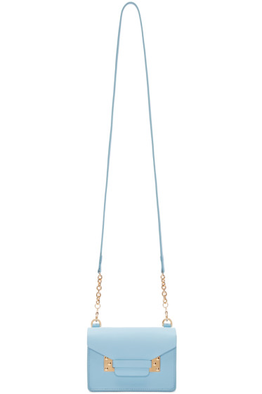 Sophie Hulme - SSENSE Exclusive Blue Nano Milner Envelope Bag